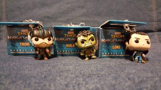 Thor Ragnarok Funko Minis