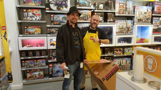The First to Purchase the Star Wars LEGO Millennium Falcon