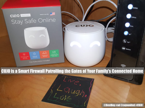 the Cujo Smart firewall protects your home network