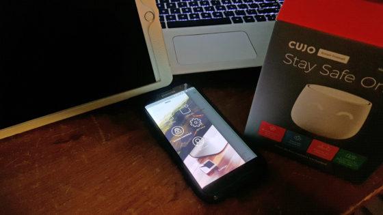 the Cujo smart Firewall has a great app