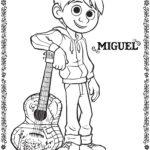 Coco Miguel Coloring Page