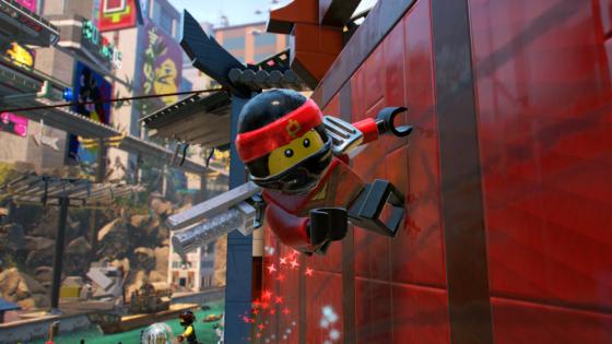 LNGV Ninja-gility screenshot Wall Running Closeup