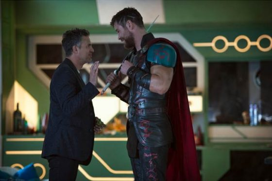 Bruce Banner and Thor