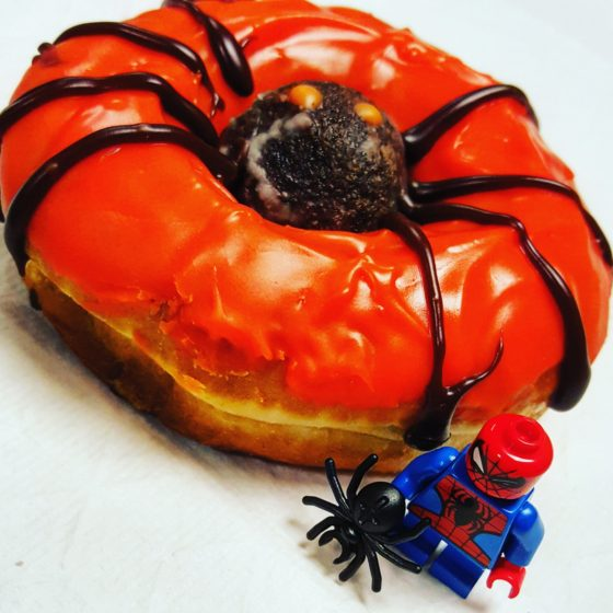 Spider-Man and Spider Donut