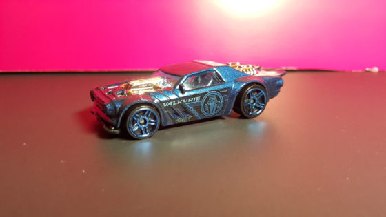 Valkyrie Themed Hot Wheels Car