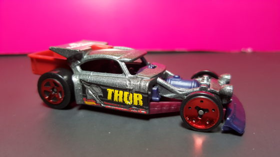 Thor Themed Hot Wheels Car