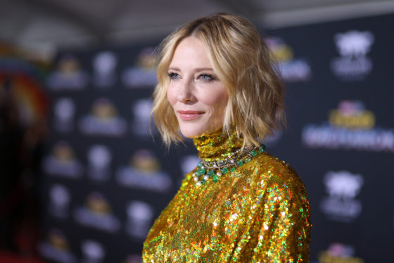 Cate Blanchett at the World Premiere Of Marvel Studios Thor Ragnarok