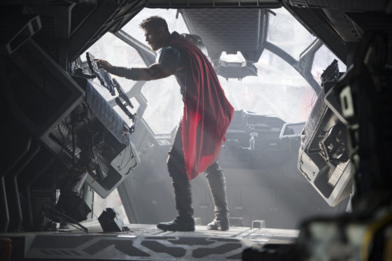 Thor on Ship
