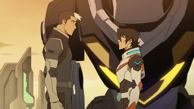 Voltron - Shiro and Keith