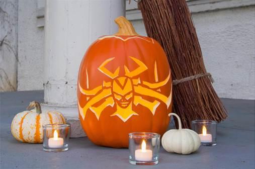 Make a Hela Pumpkin