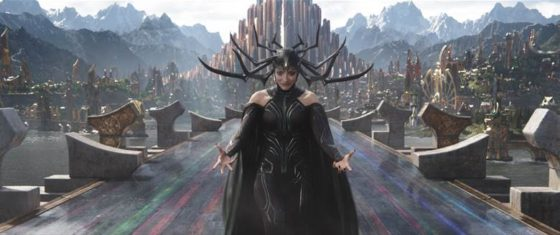 Hela About to Fight