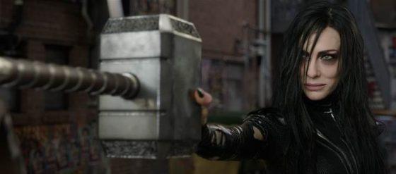 Hela Crushes Mjolnir