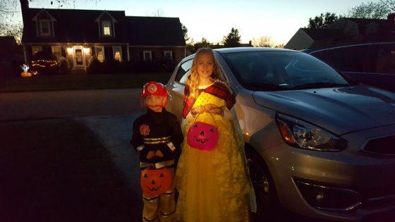 Halloween with the Mitsubishi
