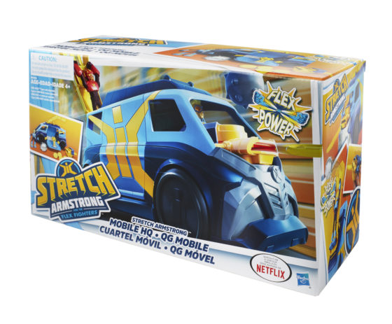Stretch ArmStrong Mobile HQ Boxed
