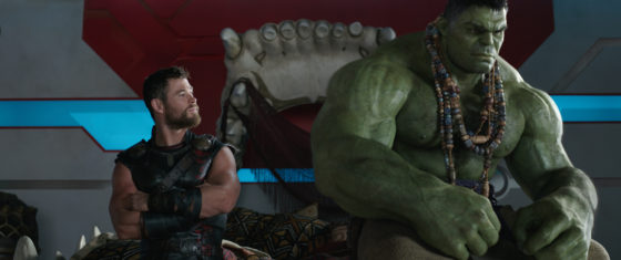 Thor and Hulk from Thor Ragnarok