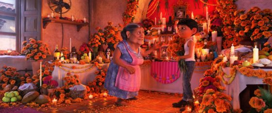 Coco with Abuela