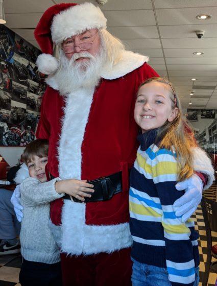 The Kids and Santa