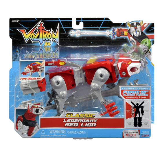 Voltron Classic Legendary Red Lion