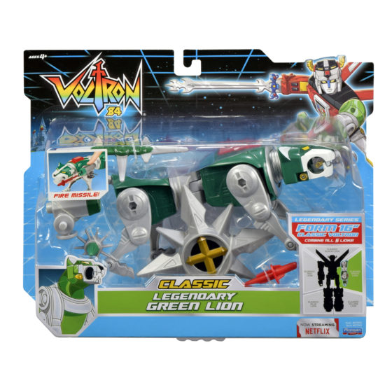 Voltron Classic Legendary Green Lion