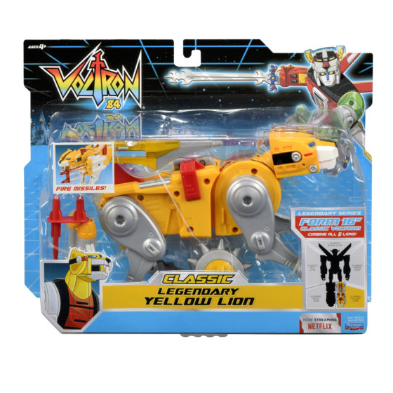 Voltron Classic Legendary Yellow Lion