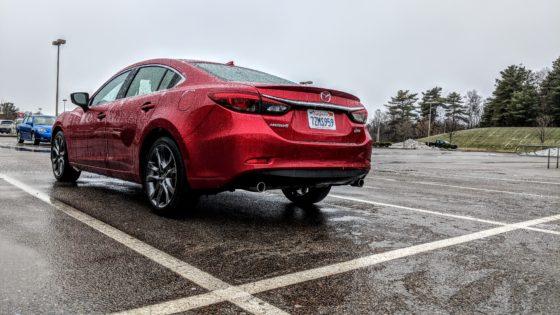 Mazda 6 Grand Touring In Rain