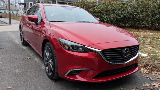 Mazda 6 Grand Touring in Driveway
