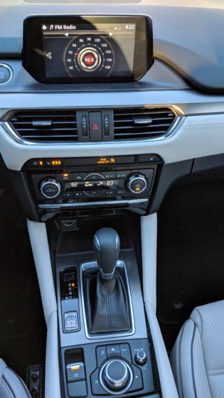 Mazda 6 Center Console