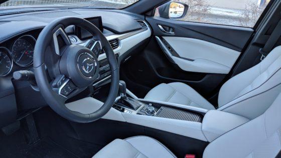 Mazda 6 Grand Touring Interior