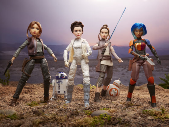 STAR WARS FORCES OF DESTINY ADVENTURE Figures (1)