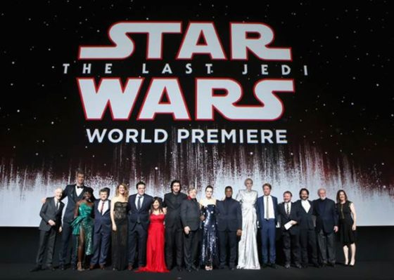 Star Wars The Last Jedi Premiere