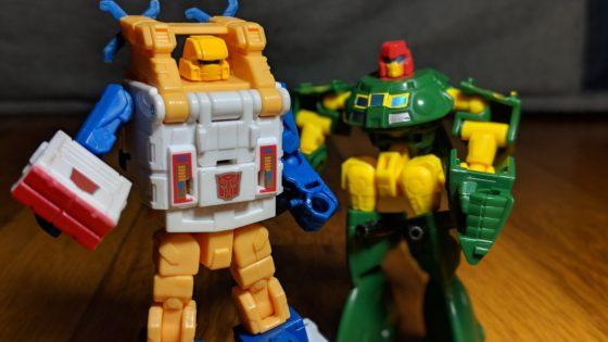 Transformers Sea Spray and Cosmos
