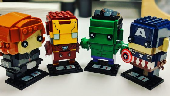 LEGO Marvel Brick Headz