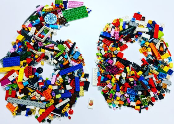 60th Anniversary for LEGO Bricks