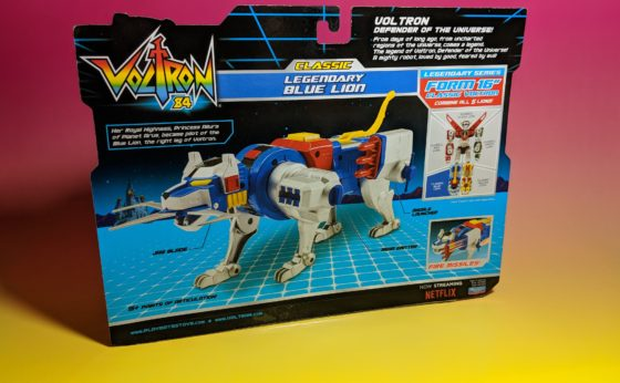 Blue Lion Back of the Box