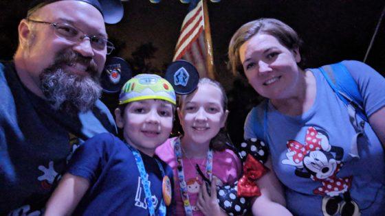 Family Time at Walt Disney World