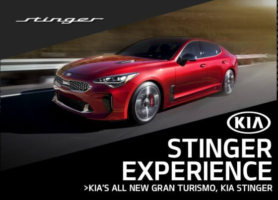 The Kia Stinger Experience