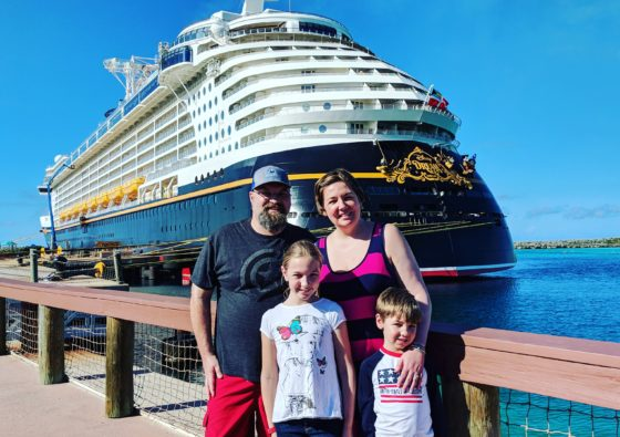 Family on Castaway Cay