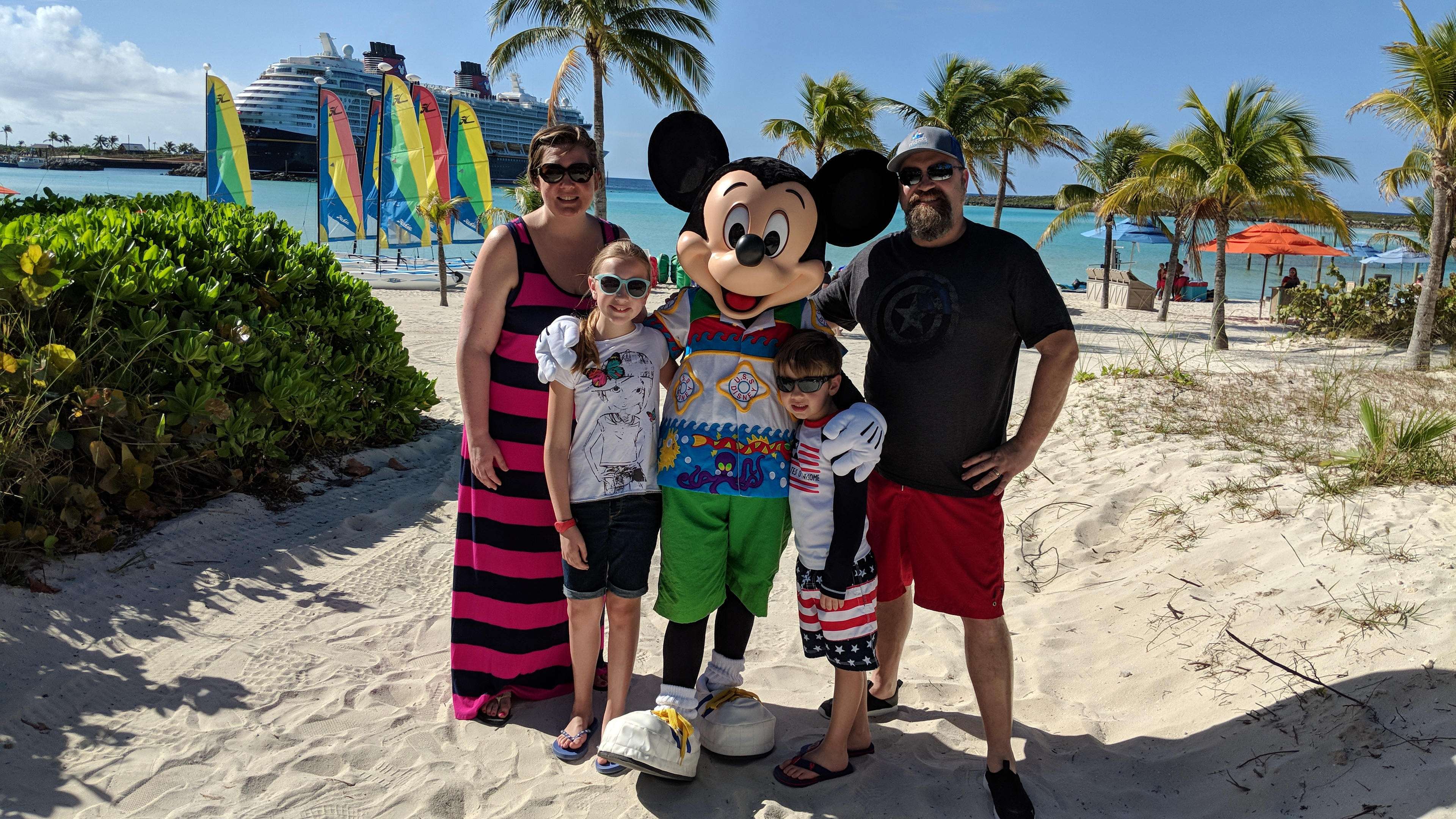 Our First Time Ever to Castaway Cay