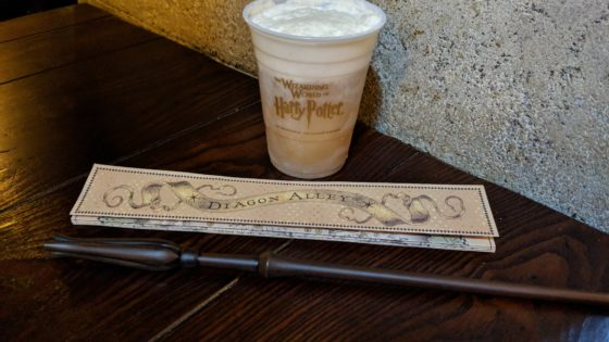 Butterbeer and Lunas Wand