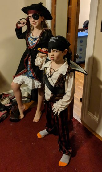 Pint-sized Pirates