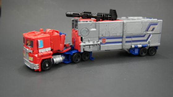 Optimus Prime Cab and Trailer