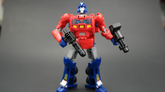Right Into The Chest Cavity Of Optimus Prime Figure Has Head Cab And A Spot For Matrix Leadership S Ion Blaster