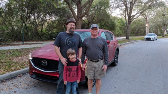 Three Generations and the CX-5