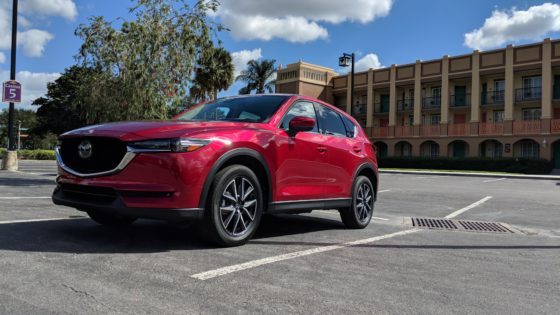 Delivery of the Mazda CX-5 Grand Touring
