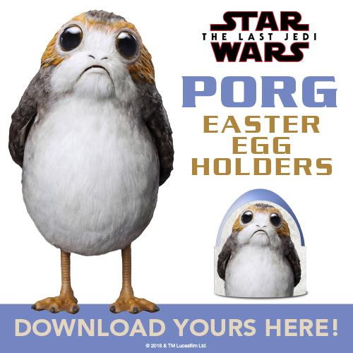 Porg Easter Egg Holders