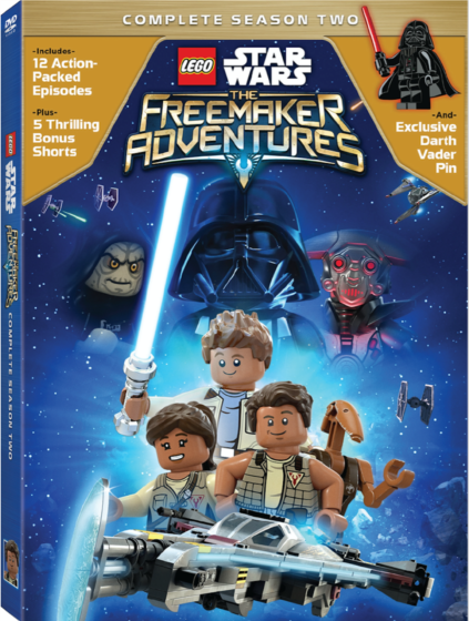 LEGO Star Wars The Freemaker Adventures Season 2 DVD COVER