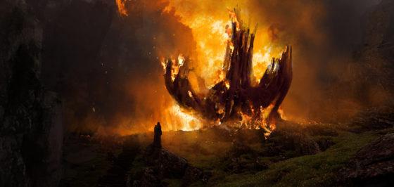 burning down the jedi