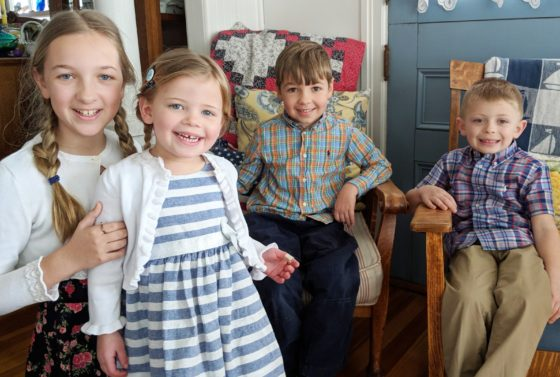 Easter with the Cousins