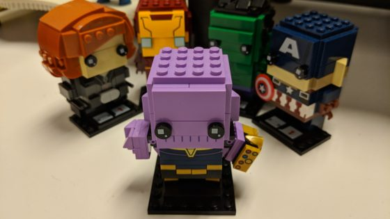 Thanos BrickHeaddz