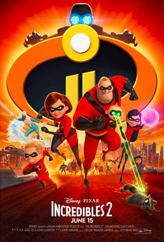The Incredibles II Poster